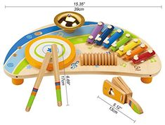 Hape - Early Melodies - Mighty Mini Band Wooden Percussion Instrument educational toys for kids Toddler Gifts, Toddler Toys, Gifts For Kids, Kids Toys, Baby Gifts, Mini Band, Hape Toys, Best Educational Toys, First Birthday Gifts