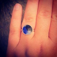 Galaxy acrylic ring