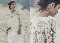 Robe de mariée Laure de Sagazan modèle Attar