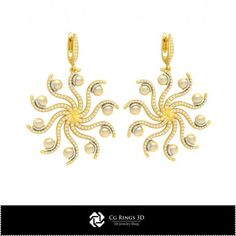 3D CAD Earrings with Pearls Cad Services, Buy And Sell, 3d, Pearls, Earrings, Stuff To Buy, Jewelry, Ear Rings, Stud Earrings