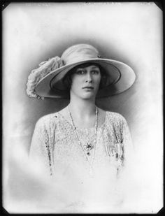 About the British Royals:  Princess Mary, Countess of Harewood, 1923, who lived at Goldsborough Hall until 1930