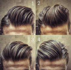 25 Best Pompadour Hairstyles & Haircuts For Men Guide) Trendy Haircuts, Hairstyles Haircuts, Haircuts For Men, Cool Hairstyles, Fashion Hairstyles, Modern Haircuts, Formal Hairstyles, Wedding Hairstyles, Medium Hairstyles
