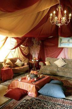 Moroccan theme, comfort
