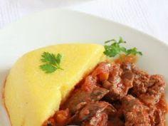Ficatei de pui cu sos de rosii si usturoi Romanian Food, Romanian Recipes, Yummy Food, Tasty, Cooking Recipes, Healthy Recipes, Ravioli, Soul Food, Food To Make