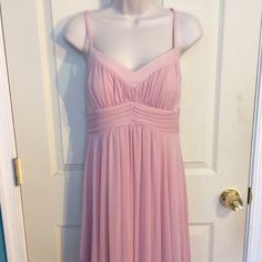 Prom Dress  ✨NWOT✨ Floor length light pink dress! It's a beautiful dress perfect for prom or a bridesmaid! Enfocus Studio Dresses Maxi