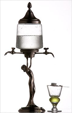 Lady Absinthe  Fountain. But i want to make this or something similar into the 'Free TeaTime Tea', to place on the end of the bar for guests and customers.