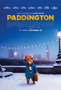 Paddington Bear-saw this today.....DARLING MOVIE!!!! Fell in love with him as if I were my daughters age again☺️