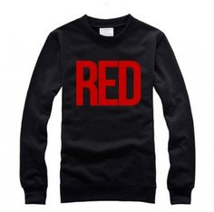 Taylor Swift red sweatshirt for men pullover style