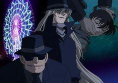 Detective Conan Shinichi, Gin, Vodka