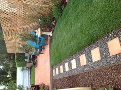 Transforming a small backyard into a quiet retreat!!