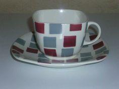 Samba Cup and Saucer on the Patio shape