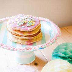お誕生日やベビーシャワーに。自分で作れる簡単手作りケーキスタンドの作り方|by Suganao