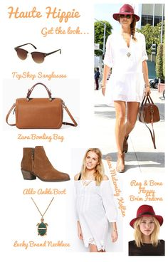Haute Hippie | One Mama, Four Looks: Stacy Keibler's Maternity Style | The Baby Post