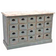 Dorchester Gray Apothecary Cabinet