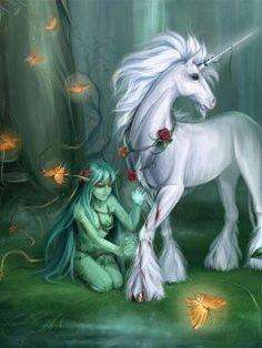 unicorn and fairy