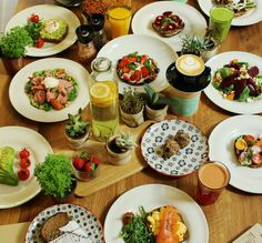 Beautiful Bali Food@ Ginger & Jamu in - Fresh and Mimosas, Fish Recipes, Baby Food Recipes, Yogi Food, Brunch, Exotic Food, Raw Vegan Recipes, Small Plates, Vegan Dishes