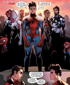 Peter leads his army in Amazing Spider-Man #11 (vol. 3)