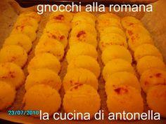 LA CUCINA DI ANTONELLA: gnocchi alla romana