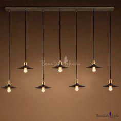 Industrial black 7 light multi light pendant light indoor lighting i like this do you think i should buy it aloadofball Choice Image