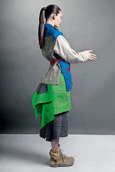 Sustainable fashion designer Juana Diaz www.juanadiaz.cl - thank you for making me discover the gorgeous work of this textile artist/designer @Paola Bee Moreno
