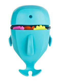 Whale Pod - Helpt bij het opruimen na het baden. Alle badspeeltjes en verzorgingsproducten in één keer droog en veilig opgeborgen. Aan de muur te bevestigen met zuignappen, zelfklevende strips of schroeven. Vrij van BpA, ftalaten en pvc Afmetingen: 42x48x16 cm. Exclusief badspeeltjes.