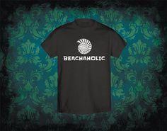 Playera Beachaholic Adictos a la playa por ArteImMrAmA en Etsy