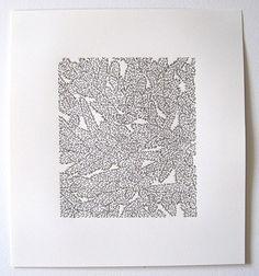 Emily Barletta, thread and paper