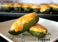 ~Jalapeno Cornbread Poppers!
