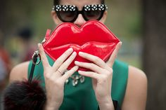 69df947ea7df9 Best Street Style Shoes and Bags at Fashion Week Spring 2015   POPSUGAR  Fashion Selfies,