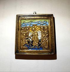 Икона «Воскресение Христово». Шесть цветов эмали. - Форум