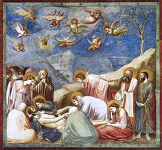 Giotto, Lower Church Assisi, Nativity 01 - Giotto - Wikipedia, the free encyclopedia