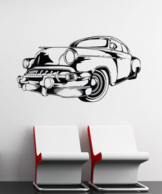 Car vehicle automobile engine motor parts blueprint wall decal vinyl wall decal sticker vintage car 1554 malvernweather Choice Image