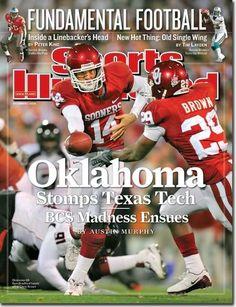 Sports Ilustrated: 2008 Oklahoma Sooners Sam Bradford