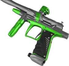 Bob Long 2012 G6R OLED Intimidator Paintball Gun Marker - Titanium / Lime
