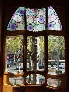Casa Batllo. I like neat shaped windows.