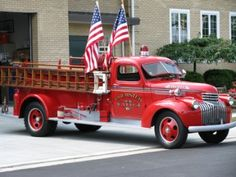 Brewster Volunteer Fire Department, Brewster, OH - 1942 Seagrave Pumper