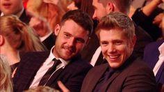 Dryan sat together at the Soap Awards