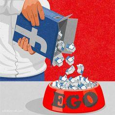 O ilustrador britânico John Holcroftcriou uma sériede ilustrações aoestilo retrô combinadas a uma crítica à sociedade moderna. O foco de suas obras abordam de tudo, desde a obsessão com mídias sociais e tecnologia até o papel da mídia no aument...