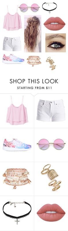 """""""Untitled #83"""" by marialk-1 on Polyvore featuring MANGO, Barbour International, NIKE, Accessorize, Topshop, Vanessa Mooney and Lime Crime"""