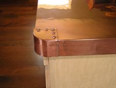 Copper Worktops - Spaces - London - Tipfords