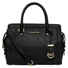 Buy MICHAEL Michael Kors Collins Leather Satchel Online at johnlewis.com