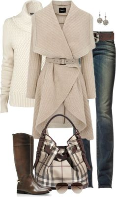 """Neutrals"" by partywithgatsby ❤ liked on Polyvore"