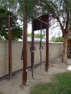 outdoor garden crossfit rig - Google Search