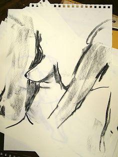 Elevarbete #teckning #drawing #kroki