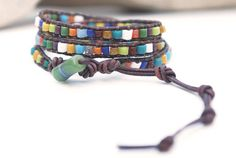 Jewellery bracelet with african recycled by JustWanderlustShop, $42.00