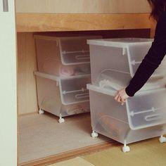 squ+,衣替え,押入れ収納,froq,オープンボックス,山善,くらしのeショップ YAMAZENの部屋