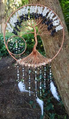 9 Tree Of Life Dream Catcher/Suncatcher/Wall by PrettyThingz4UByMe