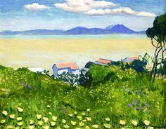 Flowering Field Albert Marquet - 1923