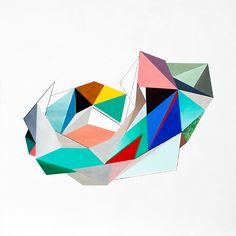 Angela Mena › NIDOS #2 NIDO Materiales blandos. Óleo sobre lino / Tamaño: 100x100 cm.