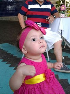 Minha netinha linda♥1aninho.